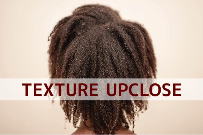 Cottony Natural Hair Texture