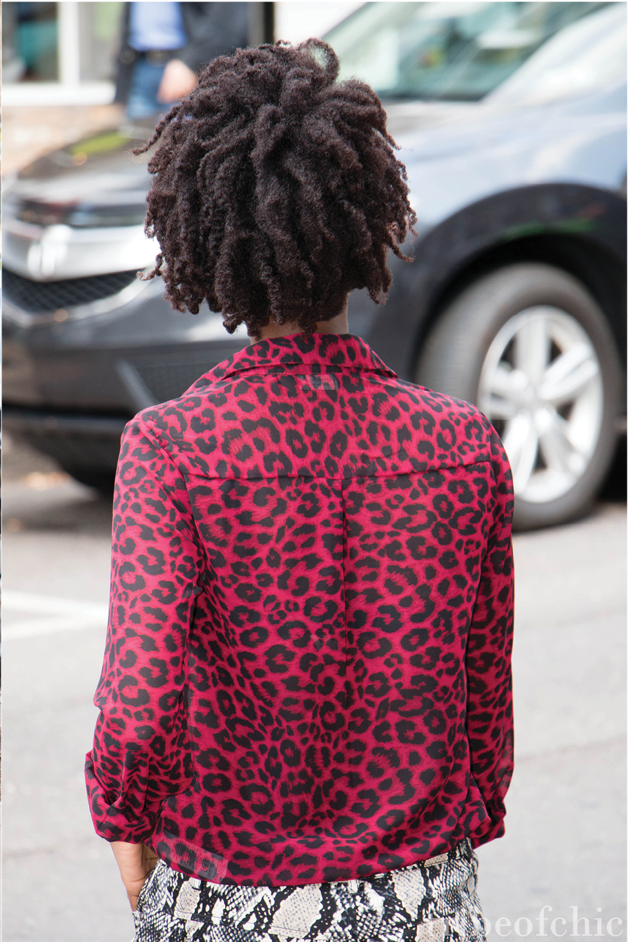 how to mix prints with leopard print and snake print