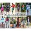 What We Wore: Print on Print