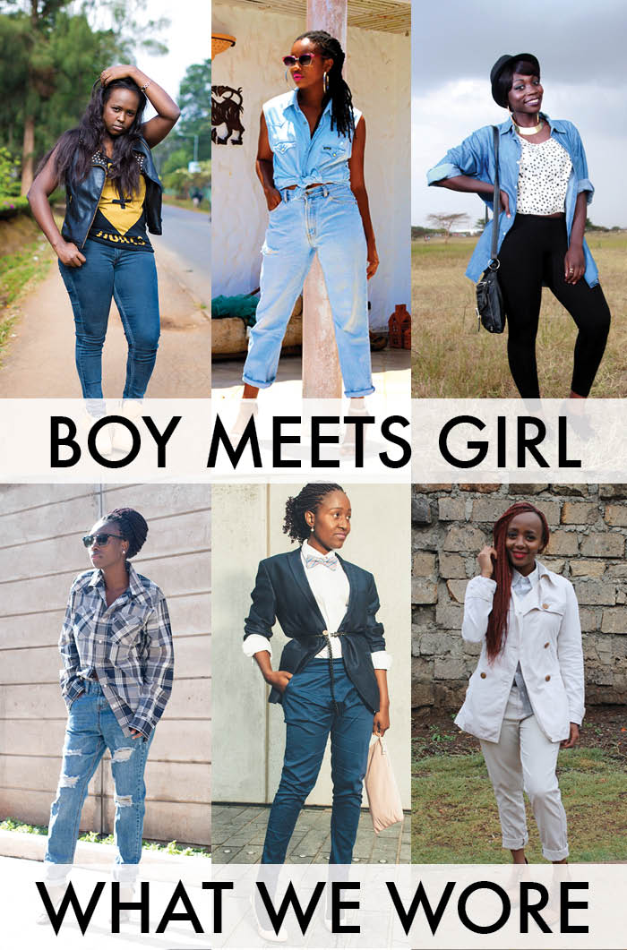 What we wore: Boy Meets Girl