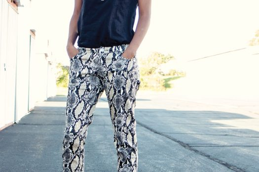 Making Printed Pants Work