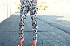 Making Printed Pants Work