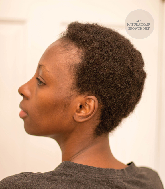 tea natural hair regimen