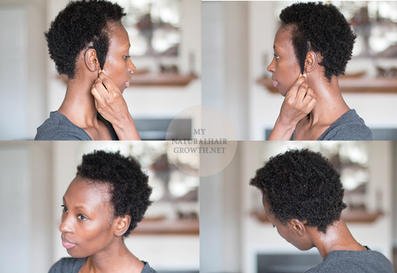 natural 4c hair length check