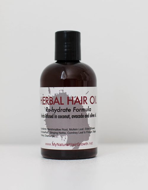 herbal oil (dry hair blend)