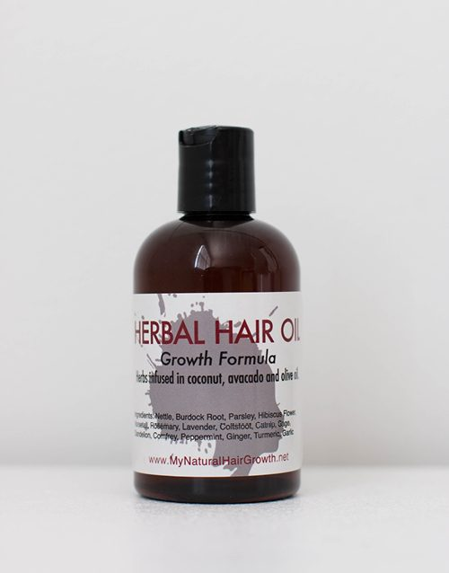 herbal growth oil
