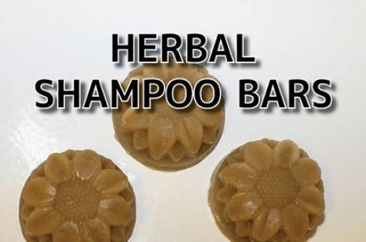 Homemade Shampoo Bar