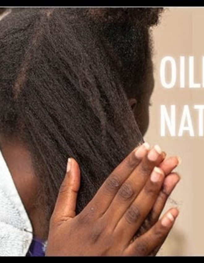 How to oil natural hair