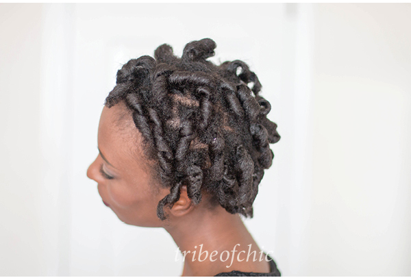 black hairstyles curlformers on 4c hair