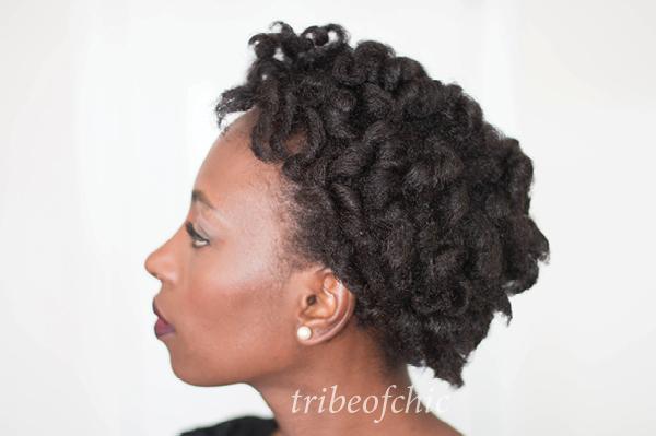 black hairstyles curlformers on 4c hair