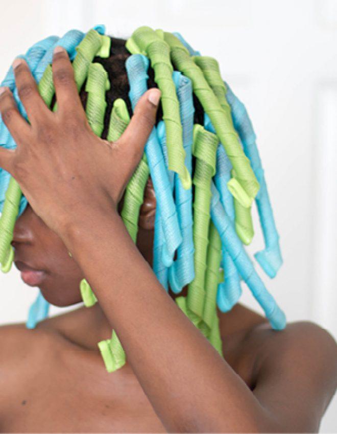 Curlformers on 4c hair (TWA)