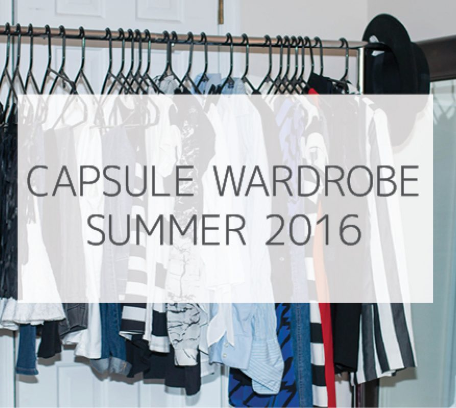 How to create a simple capsule wardrobe