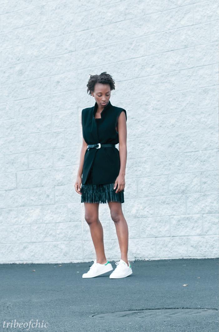 adidas stan smith white sneakers street style