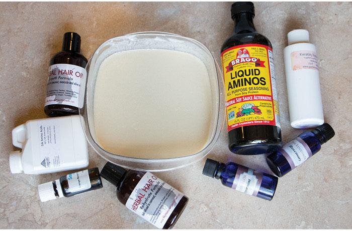 homemade hair protein treatment