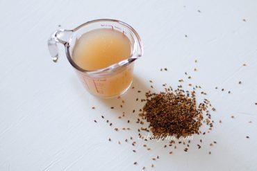 diy flaxseed gel