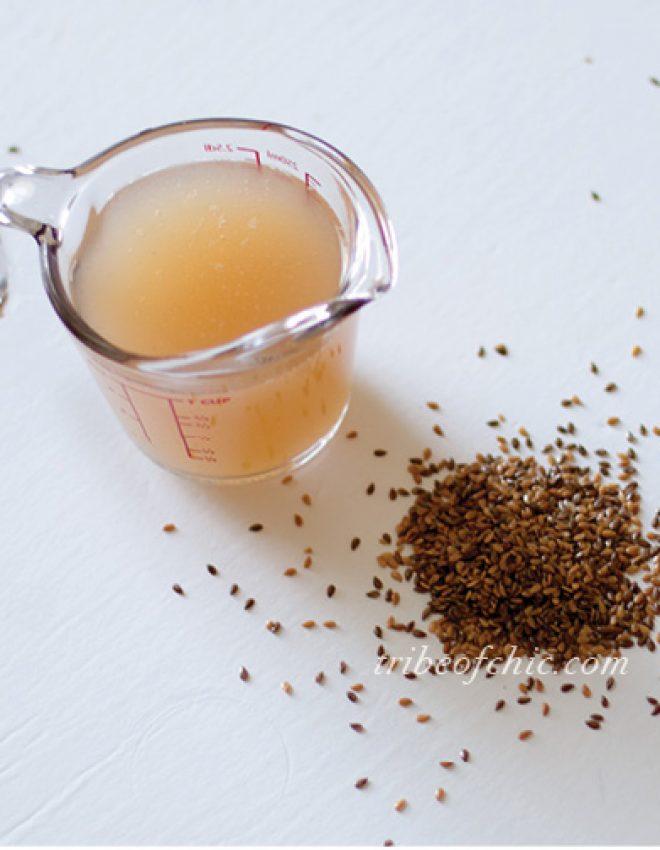 DIY Flaxseed Gel/Serum